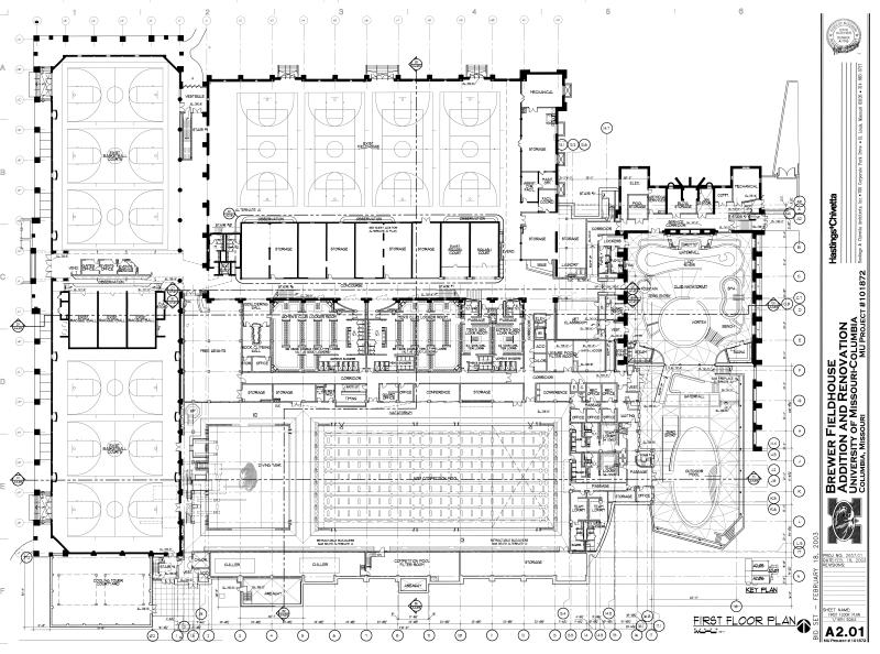 Depaul Lewis Center Floor Plan: Student Recreation Center