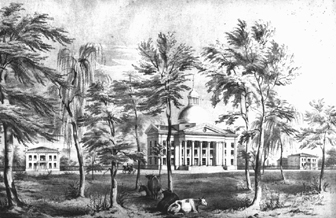 Campus View, ca. 1850