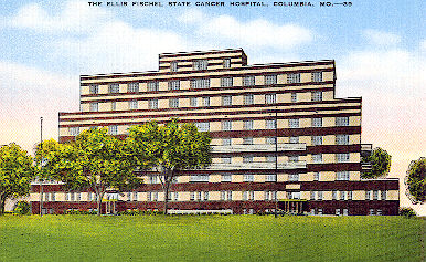 Ellis Fischel State Cancer Hospital Postcard, 1939