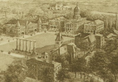 View of Campus, 1910
