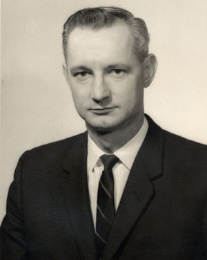 photographic portrait of donald sanders circa 1959