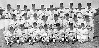 University of Missouri baseball team, 1964