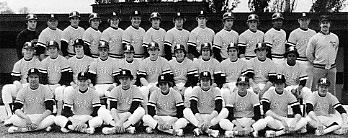 University of Missouri baseball team, 1976