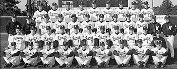 University of Missouri baseball team, 1996
