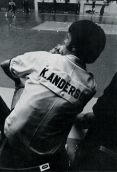 Kim Anderson as student