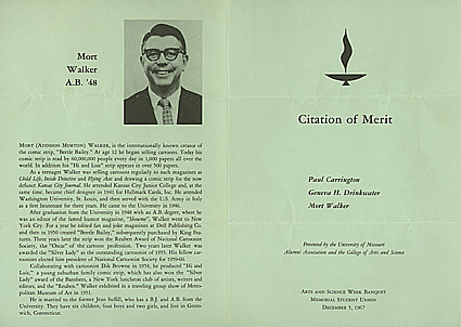 Citation of Merit Program