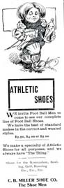 1906 Advertisement for Foot Ball shoes
