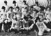 MU's First Football Team - 1890