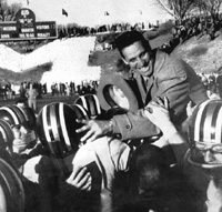 Don Faurot's Last Game as Coach, 1957