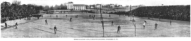 First MU vs KU Homecoming Game, 1911