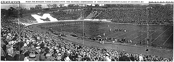 Homecoming Game, Missouri against Nebraska, 1929