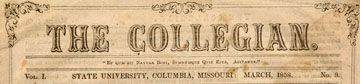 The Collegian, Literary Publication