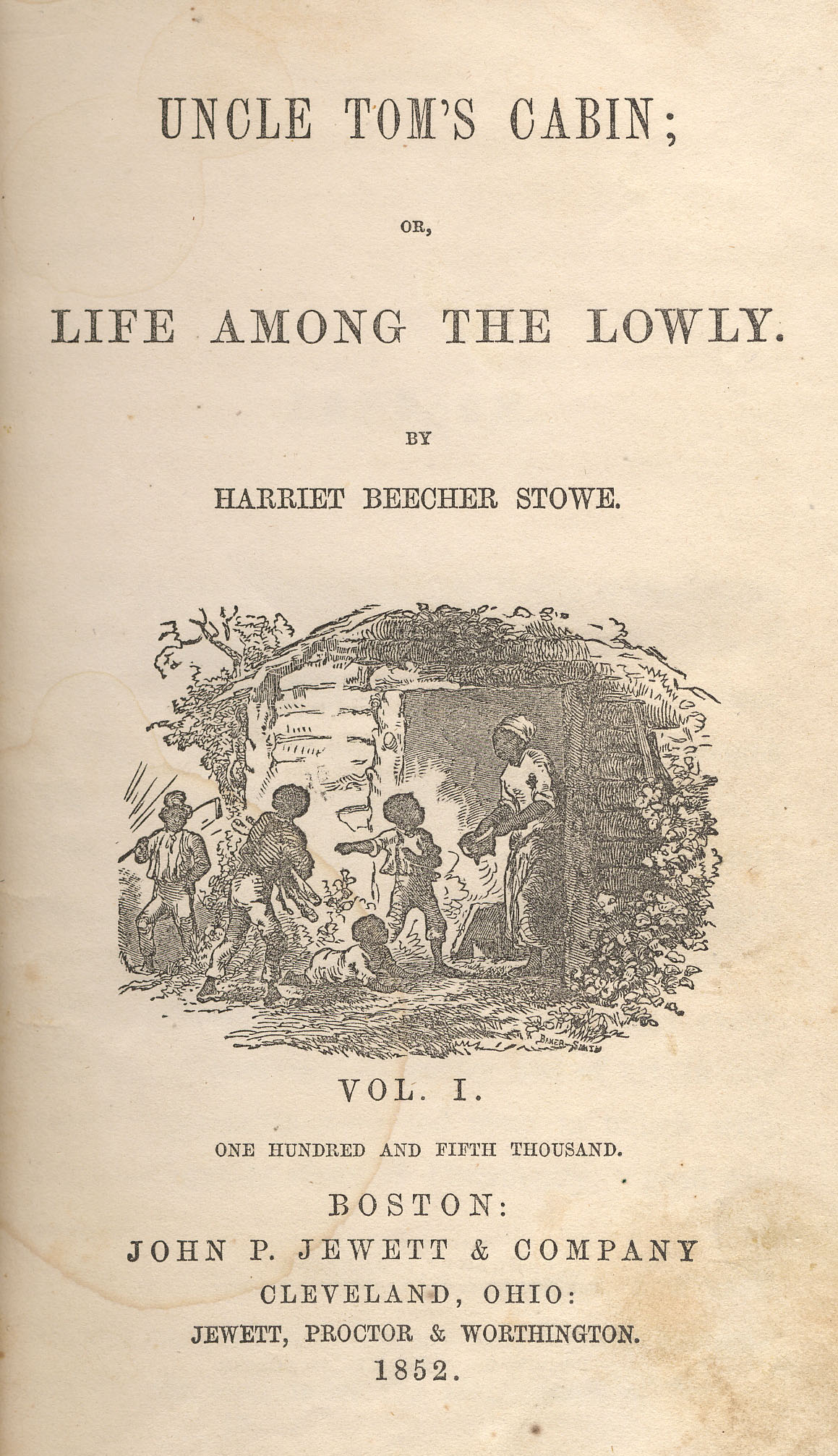 a reaction to harrier beecher stowes uncle toms cabin 27072013  harriet beecher stowe historical significance  uncle toms cabin was not only a wonderful book but it also brought to light many issues that blacks.