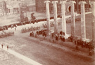 Cadets training on the Francis Quadrangle in 1908