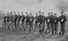 Soldiers of Company A at Camp D.R. Francis in 