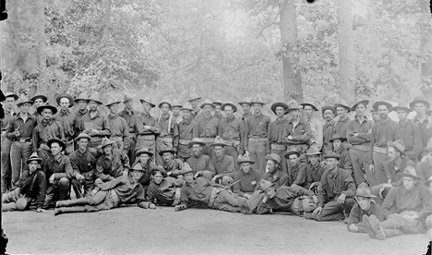 Company I, Camped at Chickamauga, 
