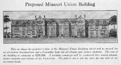 Proposed Missouri Union Building