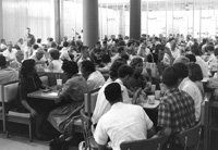 Students in the Memorial Union, 09/10/1965
