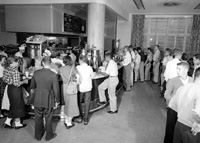 Students in the Memorial Union Cafeteria, ca. 1956