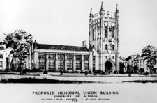 Jamieson and Spearl's Design for Memorial Union