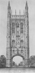 Sketch of Proposed Memorial Tower