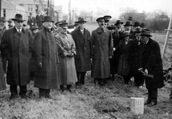 Groundbreaking Ceremony, 11/1921
