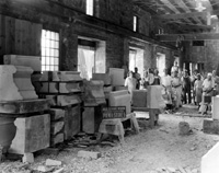 Stonemasons from Pickel Stone Co., 06/15/1924