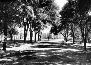 North Entrance to Campus, ca. 1926
