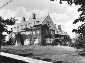 Read Hall Covered in Ivy, ca. 1926