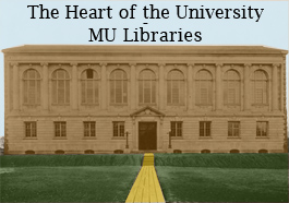 Image link to online exhibit entitled The Heart of the University: MU Libraries