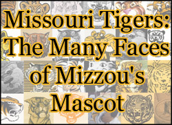 Image link to online exhibit entitled Missouri Tigers: The Many Faces of Mizzou's Mascot