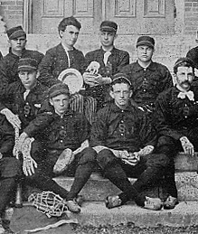 University of Missouri's baseball team of 1891.