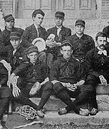 University of Missouri's baseball team of 1891.