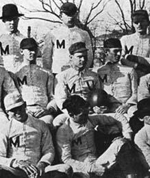 Mizzou's first football team