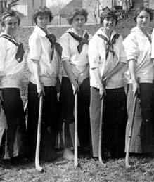1912 Women's Field Hockey Team